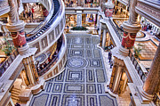 Coin Prints - Coin Pool - Forum Shops - Ceasears Palace - Las Vegas Print by Jon Berghoff