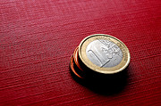 Values Art - Coins EURO by Michal Bednarek