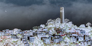 Coit Tower Surreal Print by Agrofilms Photography