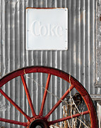 Texas.photo Prints - Coke and Spoke Print by Sonja Quintero