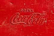 Coke Sign Print by Jill Reger