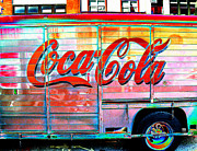 Philadelphia City Hall Framed Prints - Coke Truck Framed Print by Edward Savaria Jr