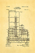 Colburn Flat Glass Working Machine Patent Art 1902 Print by Ian Monk