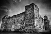 Terrifying Framed Prints - Colchester Castle Framed Print by Svetlana Sewell