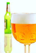 Food And Beverage Prints - Cold Beer Print by David and Carol Kelly