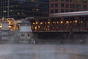 Sven Brogren - Cold Chicago RIver scene