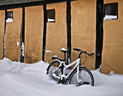 Snow Drifts Metal Prints - Cold Storage Metal Print by Odd Jeppesen