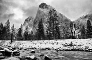 White River Photo Metal Prints - Cold Winter Morning Metal Print by Cat Connor