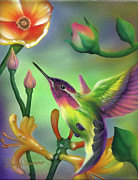 Colibri Paintings - Colibri by Luis  Navarro