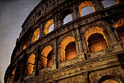 Coliseum Dawn Print by Joan Carroll
