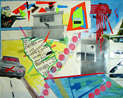 Garage Mixed Media - Collage 444 by Bruce Stanfield