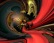 Digital Abstract Digital Art - Collecting first impressions by Claude McCoy