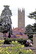 Collegiate Church Of St Mary Warwick Print by Terri  Waters