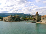 Provence Village Prints - Collioure France Print by France  Art