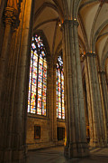 Cologne Germany - High Cathedral Of St. Peter - 02 Print by Gregory Dyer