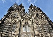 Cologne Germany - High Cathedral Of St. Peter - 16 Print by Gregory Dyer