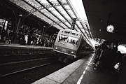 Commuters Photos - Cologne Trainstation by Jimmy Karlsson