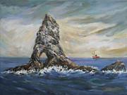 Colombretes Island Print by Stefano Popovski