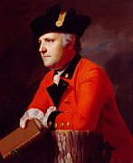 Book Jacket Painting Metal Prints - Colonel John Montresor Metal Print by John Singleton Copley