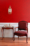 Decorator Prints - Colonial Style Print by Olivier Le Queinec