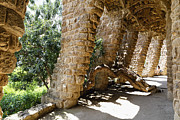 George Oze - Colonnade of Park Guell