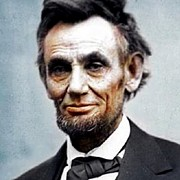 Abe Lincoln Posters - Color Abe Lincoln Poster by Paul Van Scott