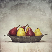 Fruit Still Life Metal Prints - Color Does Not Matter Metal Print by Priska Wettstein