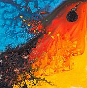 Abstract Prints Paintings - Color Dream 25 by Sharon Cummings