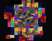Color Fantasy - Abstract - Art Print by Ann Powell