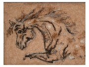 Needle Felting Tapestries - Textiles - Color Me Horse by Bonnie Nash