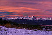 Sawatch Range Photos - Color of Dawn by Jeremy Rhoades