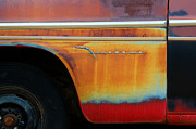 Wrecked Cars Prints - Color of Rust Print by Bob Christopher