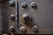 Rust Prints - Color of Steel 3 Print by Fran Riley