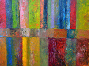 Michelle Calkins - Color Panel Abstract lll