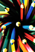 Shape Photos - Color Pencils by Floyd Menezes