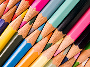 Color Pencils Posters - Color pencils Poster by Lusoimages