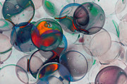 Color Spheres Print by Dennis James