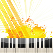 Anne Marie Baugh - Color Splash Piano