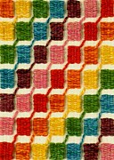 Wheel Tapestries - Textiles Posters - Color Steps Poster by Jean Baardsen