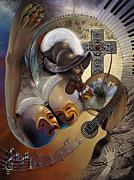 Color Y Cultura Print by Ricardo Chavez-Mendez