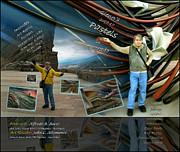 Colorado Art Book Cover Print by Glenn Bautista