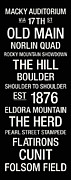 Shoulder Art - Colorado College Town Wall Art by Replay Photos