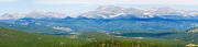 Colorado Continental Divide Panorama Hdr Crop Print by James Bo Insogna