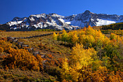 Autumn Prints Prints - Colorado Country Print by Darren  White