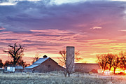 Early Morning Sun Prints - Colorado Country Morning Sunrise Print by James Bo Insogna