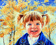 Koehler Paintings - Colorado Cutie by Hanne Lore Koehler