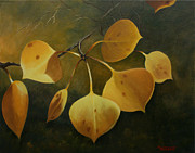 Autumn Landscape Drawings - Colorado Gold I by Anthony Verburgt