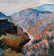 Desert View Paintings - Colorado High II by Ingrid Bolton