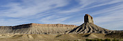 Sloping Prints - Colorado Panorama I Print by Dave Gordon