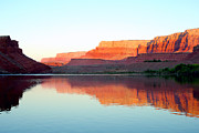 Cliff Lee Metal Prints - Colorado River At Dawn Metal Print by Douglas Taylor